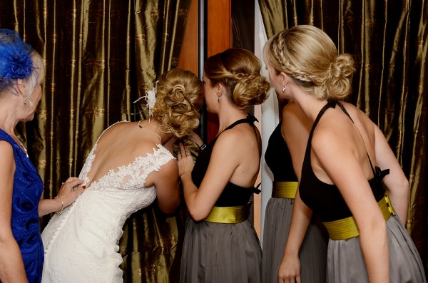 What bridesmaids do