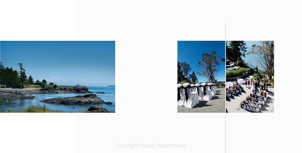 wedding photography at poets cove resort and spa pender island